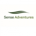 text reads 'sense adventures'