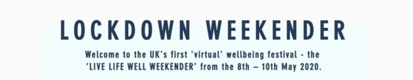 wellbeing weekend poster