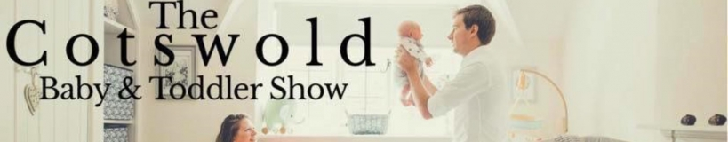 banner for Cotswold baby and toddler show