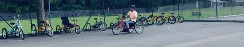 person on bike
