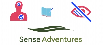banner for sense adventure creative writing workshop