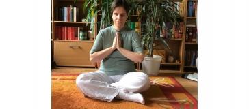 lady in meditation pose