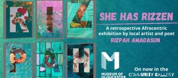 A retrospective exhibition of Rizpah Amadasun…