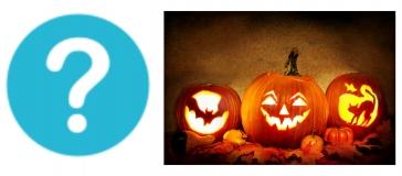 banner for Halloween quiz
