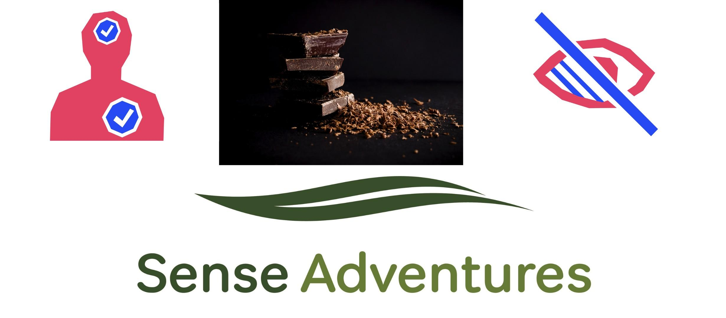 banner for sense adventures chocolate making