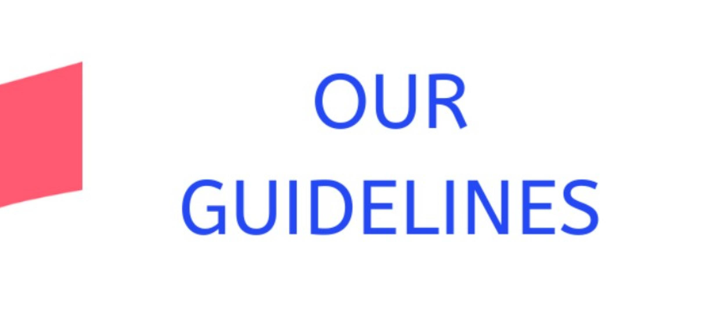 our guidelines logo