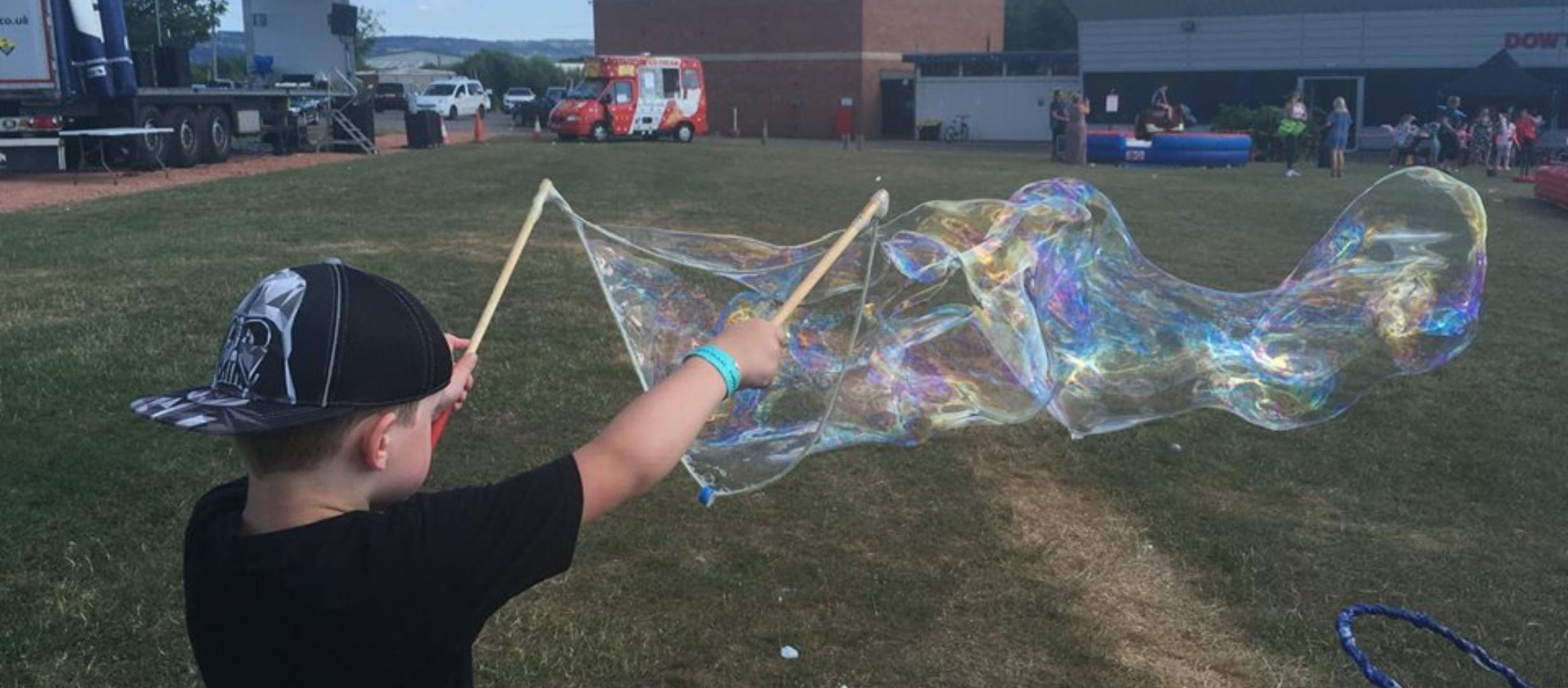 Giant bubble starter kit wand solution SEN