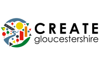 Create Gloucestershire logo